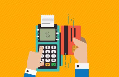 Controlando as vendas com cartões